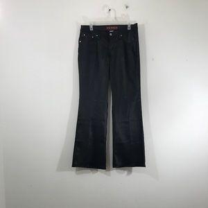 YMI Black Bootcut Pants Juniors Size 9